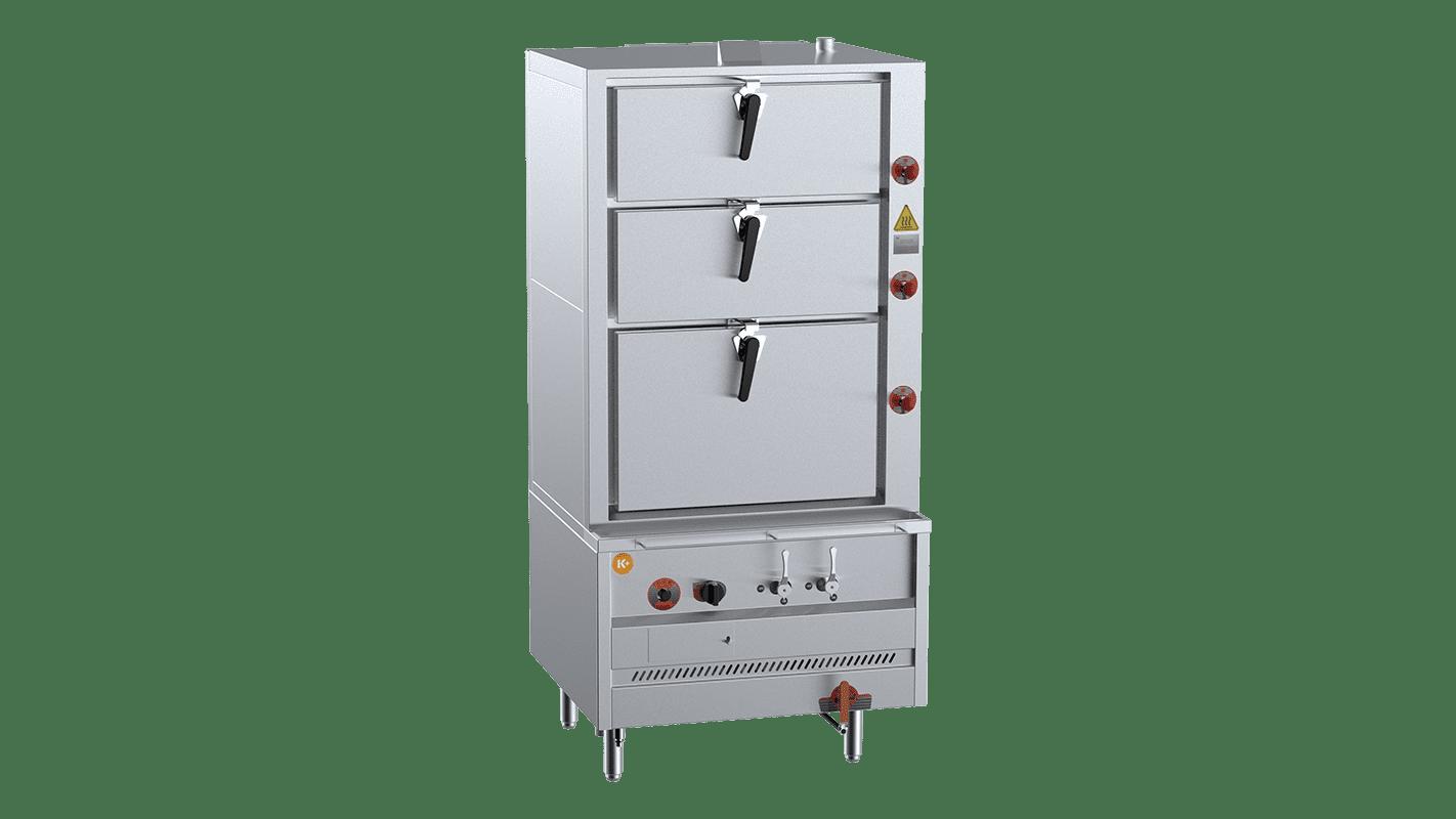 K+ Triple Deck Steamer