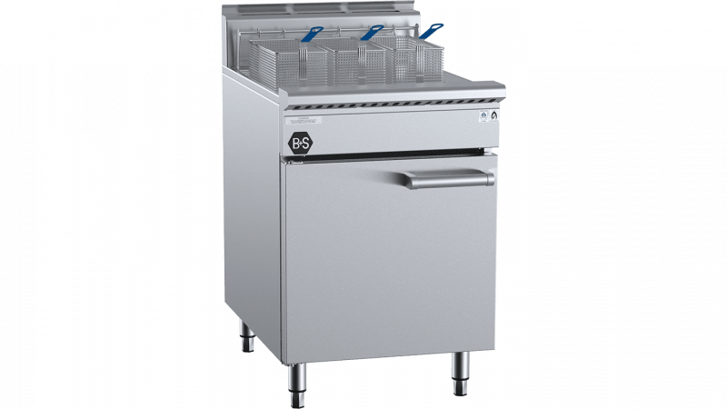 B+S Black Turbo Fryer