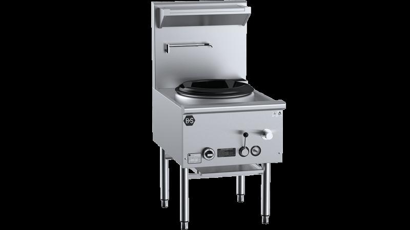 Waterless wok table 600mm