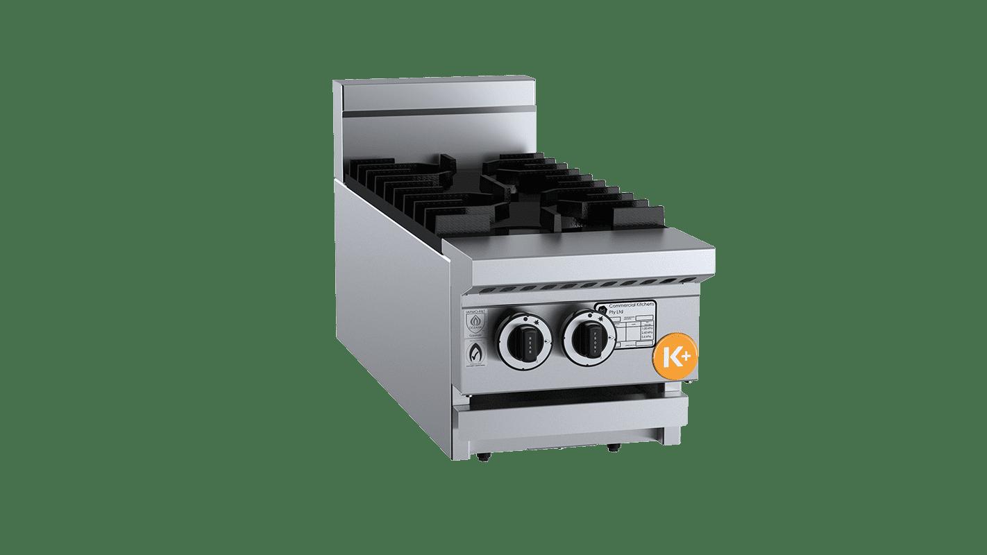 two burner cooktop