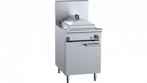 B+S Black Waterless Heat Exchange Steamer