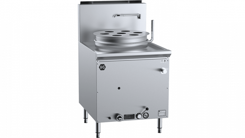 B+S Black Waterless Pot Steamer
